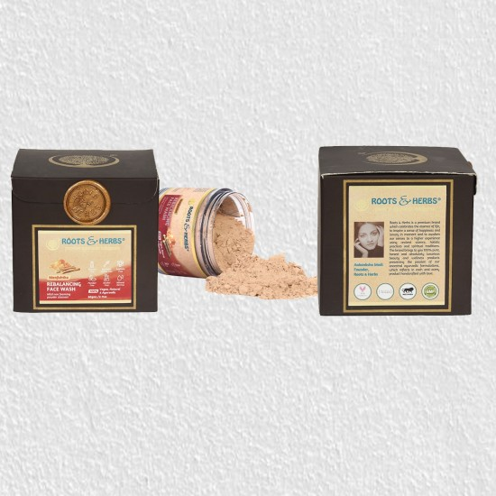 Manjistha Face Wash For Man And Woman, Lep Powder For Oily Skin