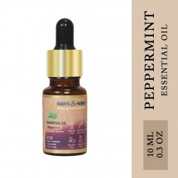 Peppermint Essential Oil for Aromatherapy, Skin Care, Hair Care, Dental Care, Nail Care, Digestion, Relieves Stress, Depression, Spasms, Pain, Headaches | No Paraben