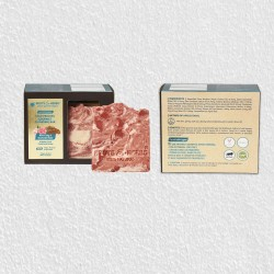 CLEANSING RED CLAY & DAMASK ROSE (COLD PROCESS GOURMET CLEANSING BAR SOAP