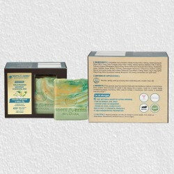 Nourishing Avocado, Bergamot And White Lily Cold Process Gourmet Cleansing Bar Soap