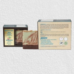 SCRUBBY OATS, CACAO & MINT COLD PROCESS GOURMET CLEANSING BAR SOAP
