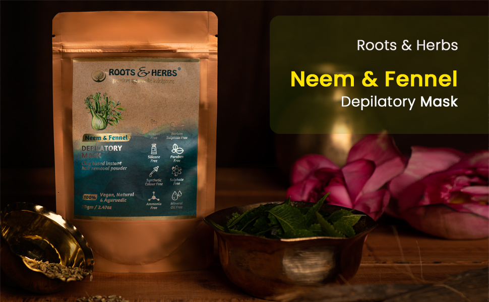 Neem And Fennel Hair Removal Ubtan